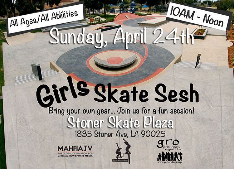 Calling all #girlswhoskate in the greater Los Angeles area!!!