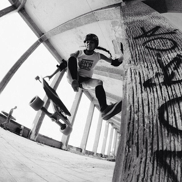 #LGC #CzechRepublic ambassador @vallery_v! Photo by @dawex_ #longboardgirlscrew #killingit