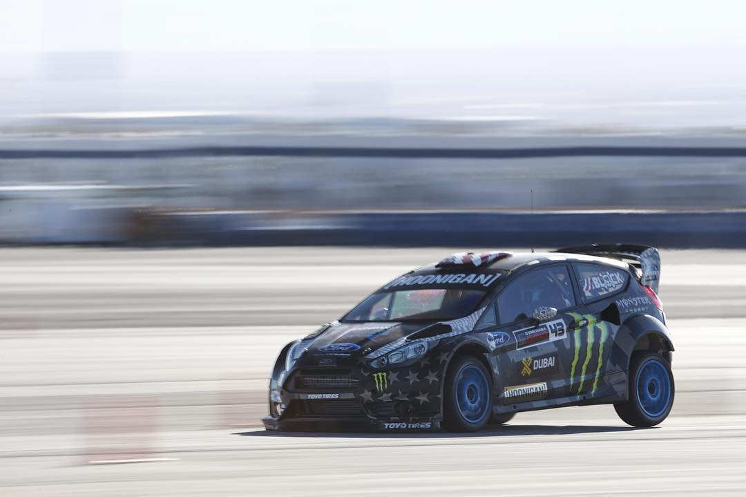 Test days with @kblock43 and the Fiesta RX43.