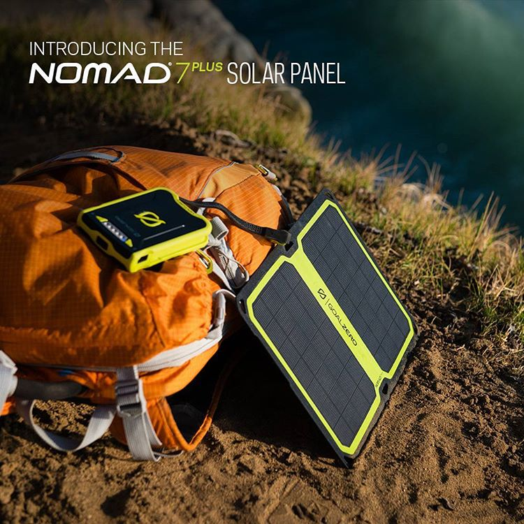 Meet the NEW Nomad 7 Plus Solar Panel! It's reengineered to be lighter, smarter and more versatile. #‎GetOutStayOut‬  To learn more follow the link in our profile.