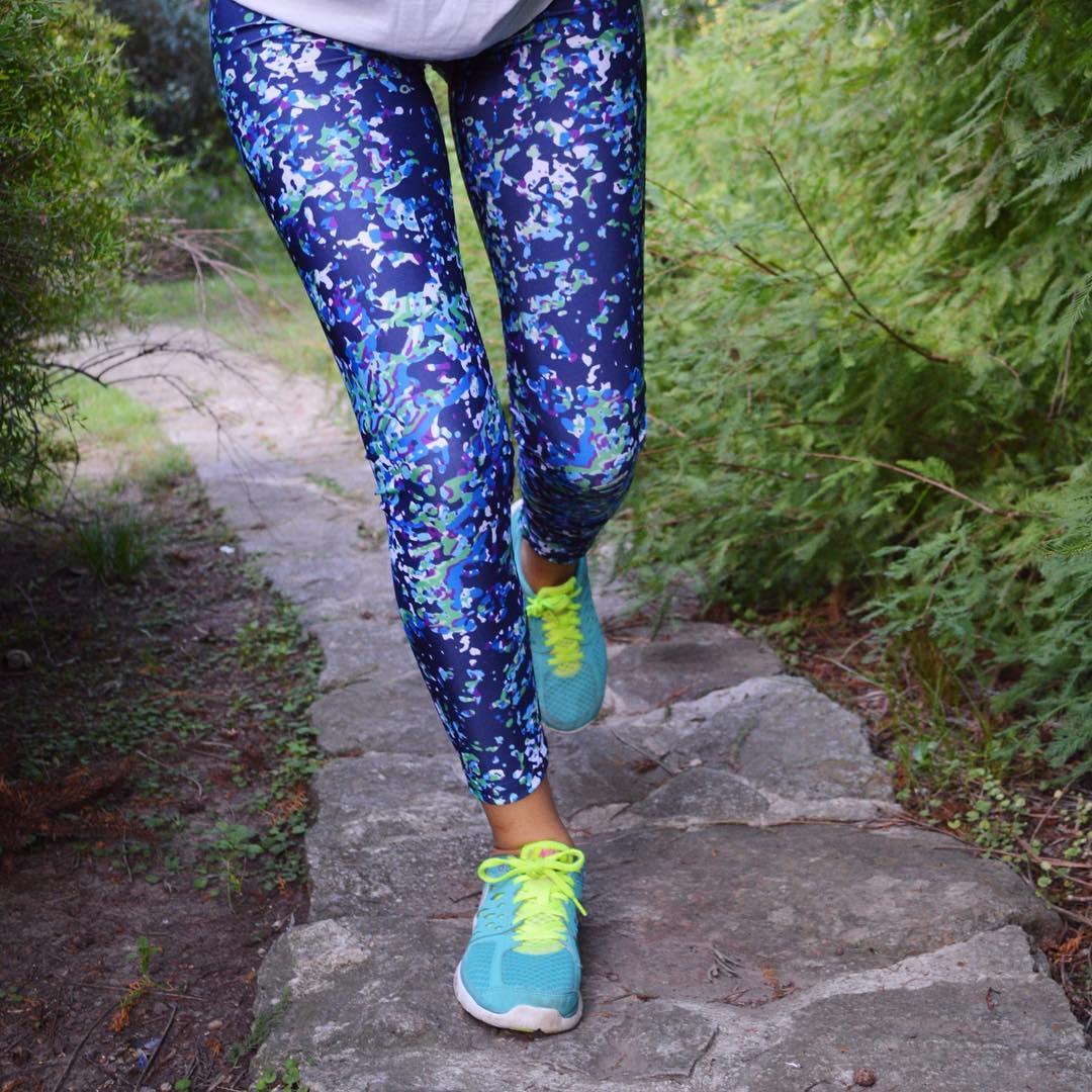 Morning Run ☀️ Legging Dots