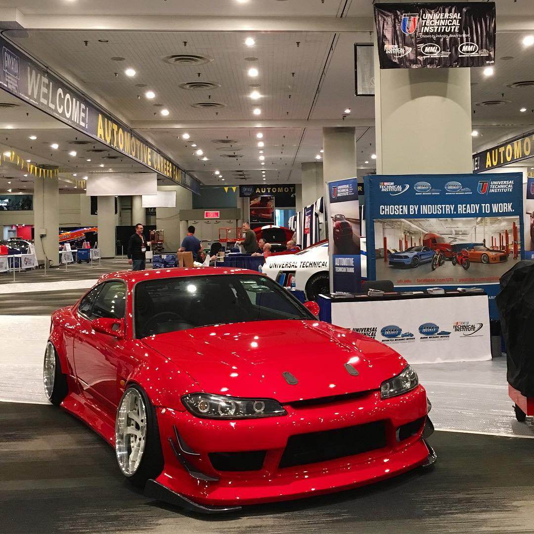 Catch @geoffstoneback and his ultra-rad s15 posted up at the NYC Autoshow in @uti.tech's booth this week. Rip a selfie with him while you're at it.