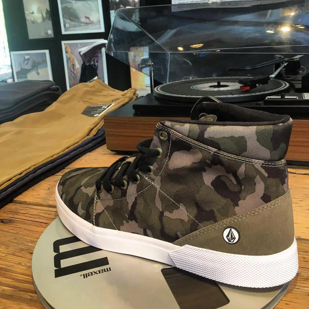 Buzzard Comouflada #AW16 #volcomfootwear