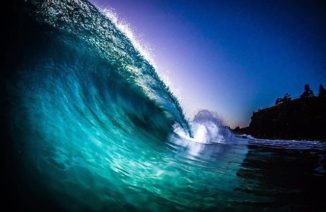 regram @oceanminded_arts Good Night  Feature by @liquidboulevard #oceanminded_arts