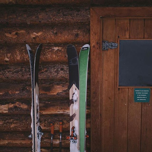 Cabin essentials for @michaeloverbeck . We agree.