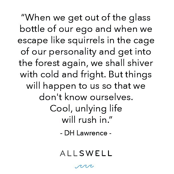 Cool, unlying life will rush in. #yesplease #AllSwell