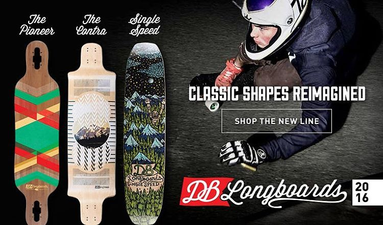 Our 2016 line-up is now available at @daddiesboardshop #dblongboards #daddiesboardshop
