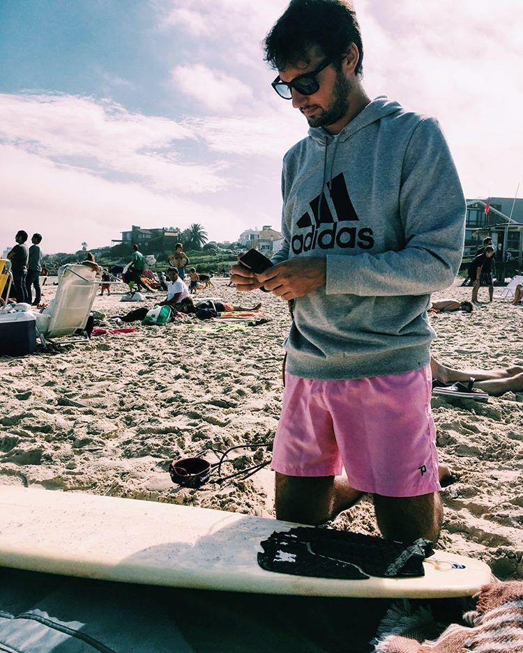 La previa.  #surf #beach