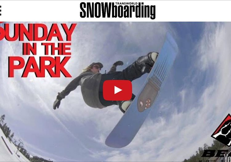 If you haven't already, get over to @twsnow and check out @ryan_tarbell in Episode 12 of Sunday's in the Park @bear_mountain #propacamba