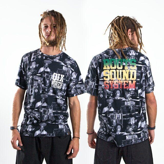 Camiseta Qix Roots - Sound System Disponível em lojas de todo o Brasil e em nossa loja virtual.  #Qix #roots #soundsystem #tshirt