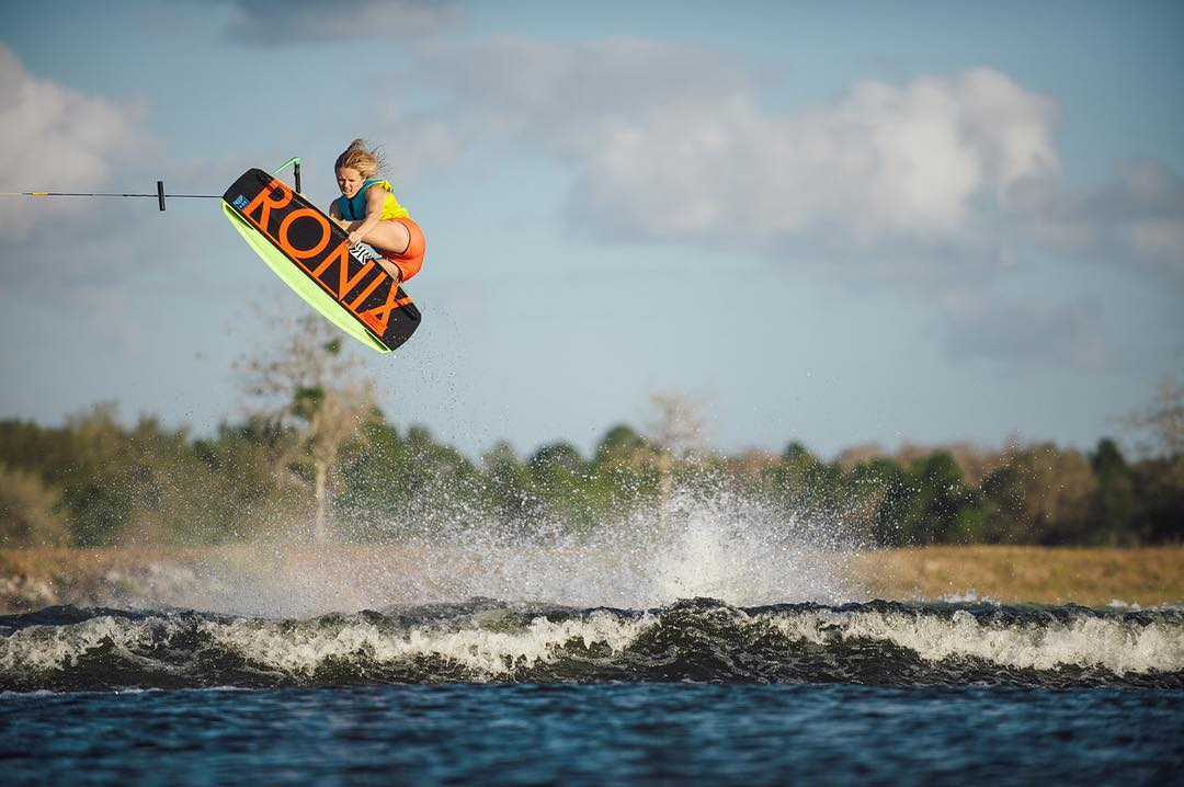 We would like to formally welcome @corrie.wilson to the Ronix Family! Looking forward to good times on the water.