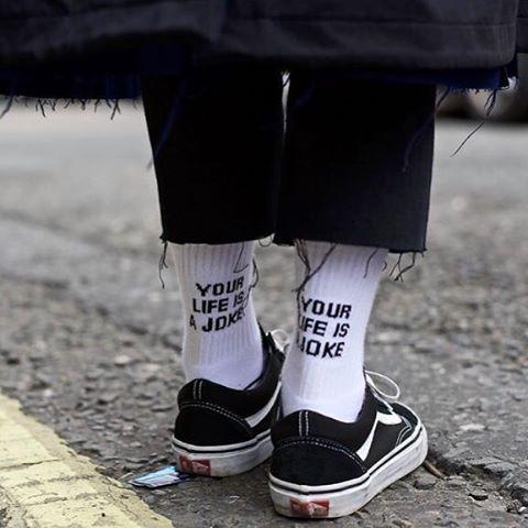Rad socks & #OldSkool