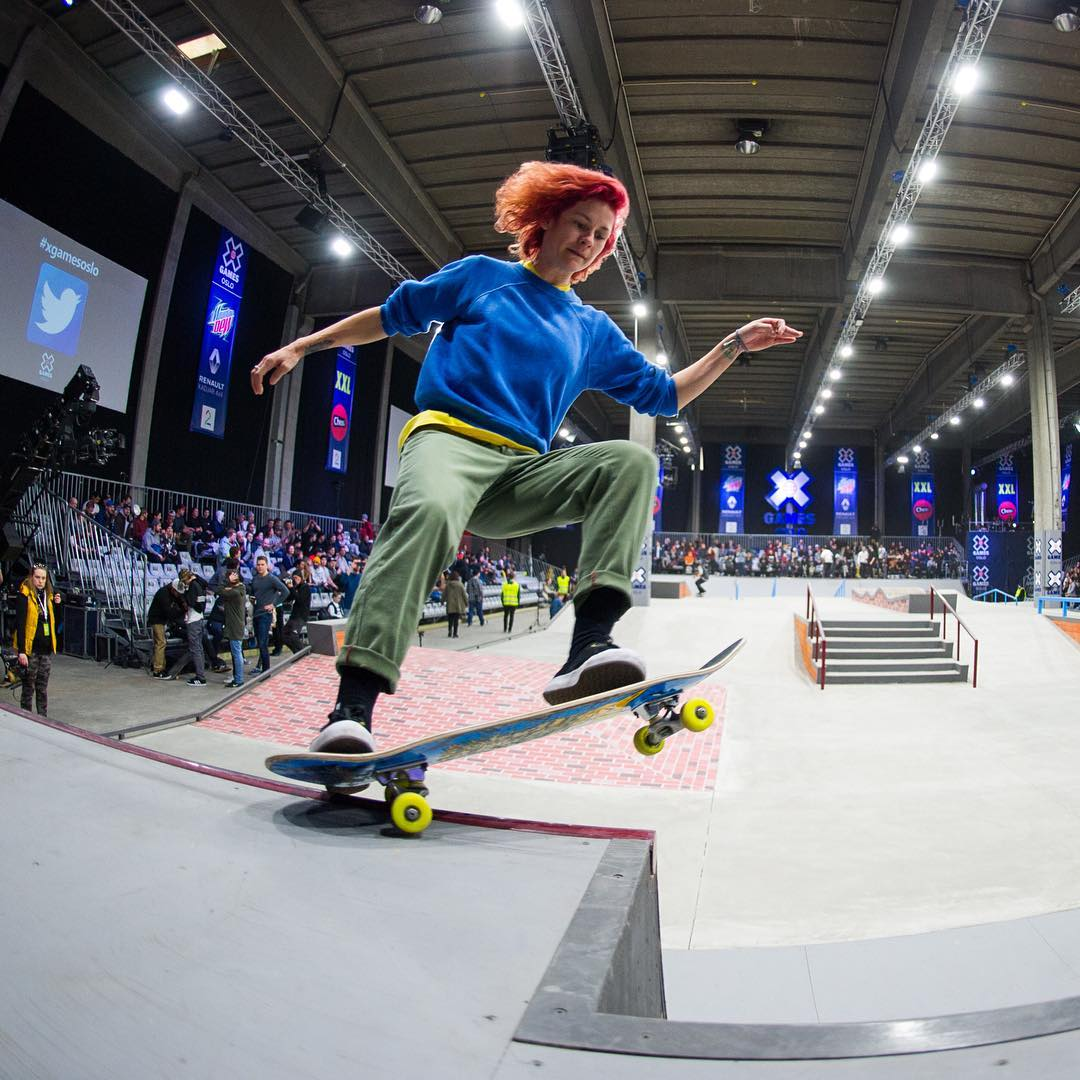 Our first-ever global female skateboarding qualifying contest is goin' down May 8 in Seattle.  Two skaters will be invited to #XGames Austin!  Click the link on our profile page for more info. (
