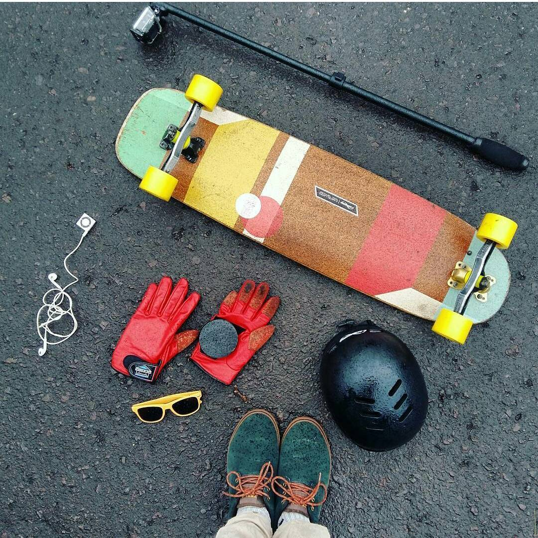 #LoadedAmbassador @frukealveskt with the essentials for a day of skating!  #LoadedBoards #Cantellated #Tesseract