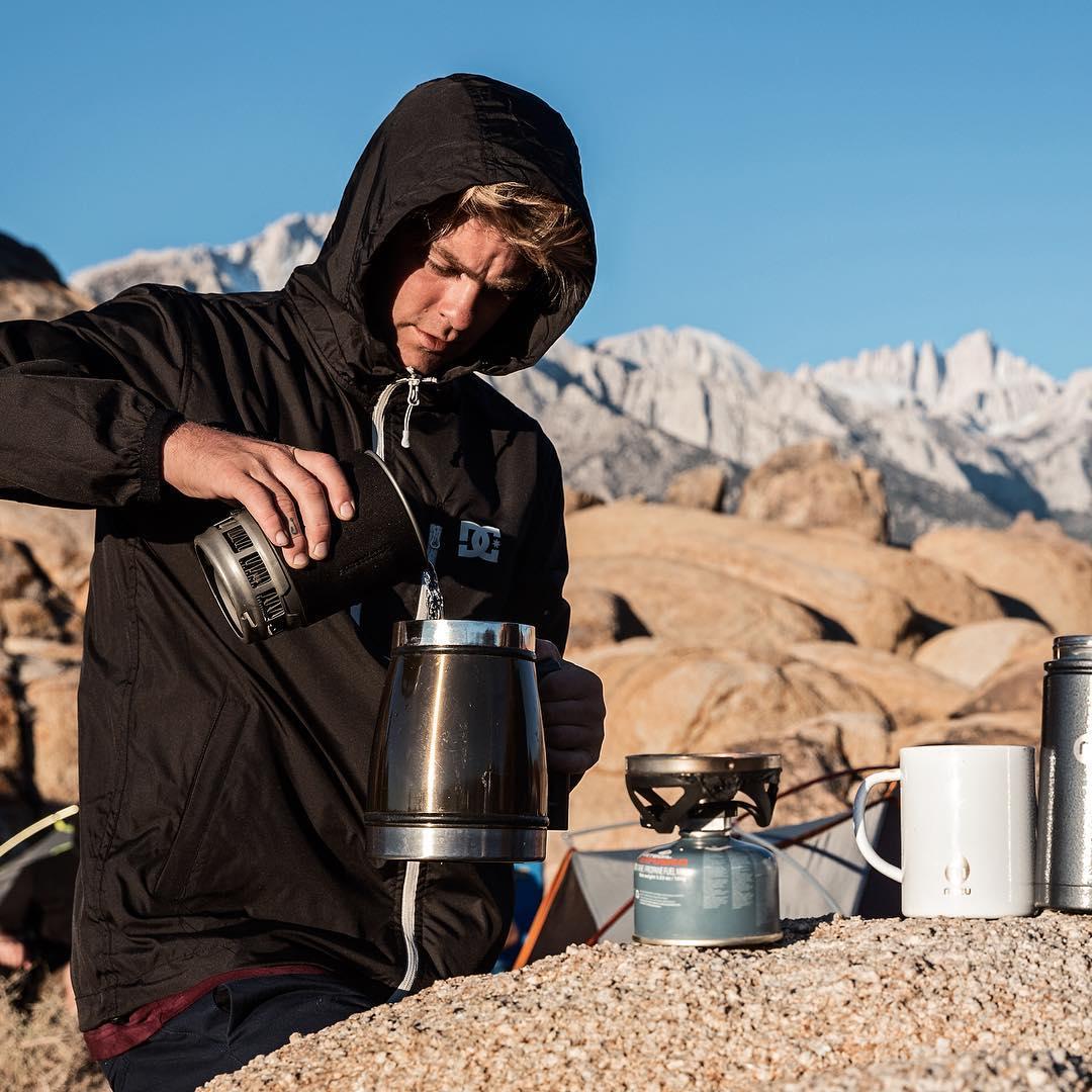 Morning Coffee. Dag Up windbreaker: DC Defined by @iikkabackstrom, Spring 2016. Photo: @jussioksanen. dcshoes.com/dcxiikka #dcshoes #dcdefinedby
