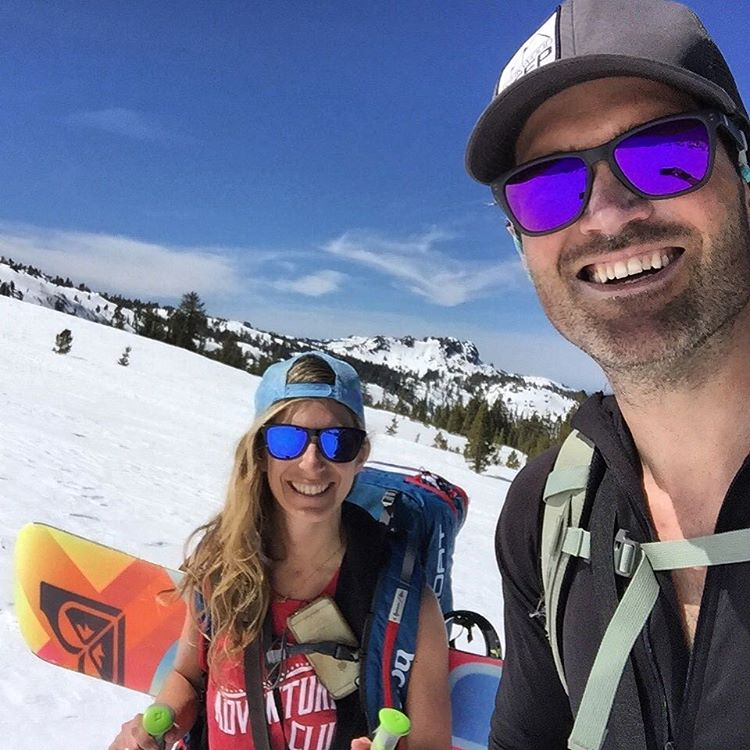 He's pretty handy in the backcountry and does a great job of building a fire in the snow - two more reasons why I'm pumped that @mcelberts will be my adventure buddy for life! #engaged #bridetobe #backcountry