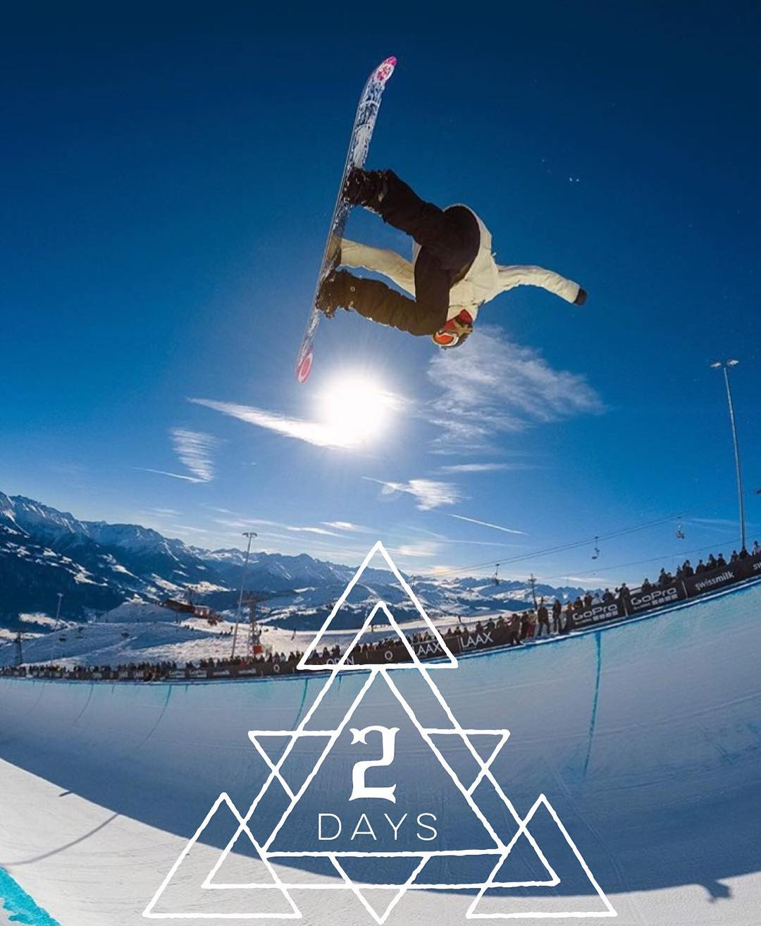 2 DAYS to B4BC's Snowboard + Music Festival at @sierra_at_tahoe—and you can win Jamie's GoPro! Join us this Saturday, April 2 to celebrate B4BC's 20th anniversary with a Big Air Expression Session with @JamieAnderson and friends, music by...
