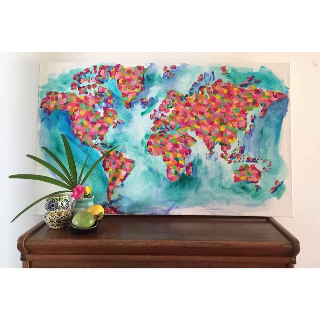 Los cuadros que llenan el mundo de color