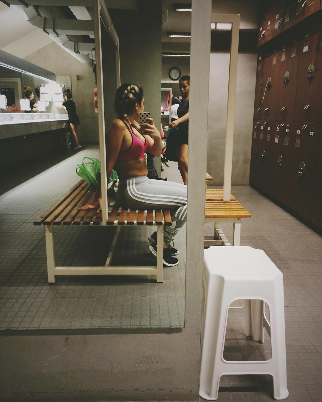 #gymtime a bajar lo que hace sobresalir el elástico. Ajjaja panza panzita zapan llamala como quieras