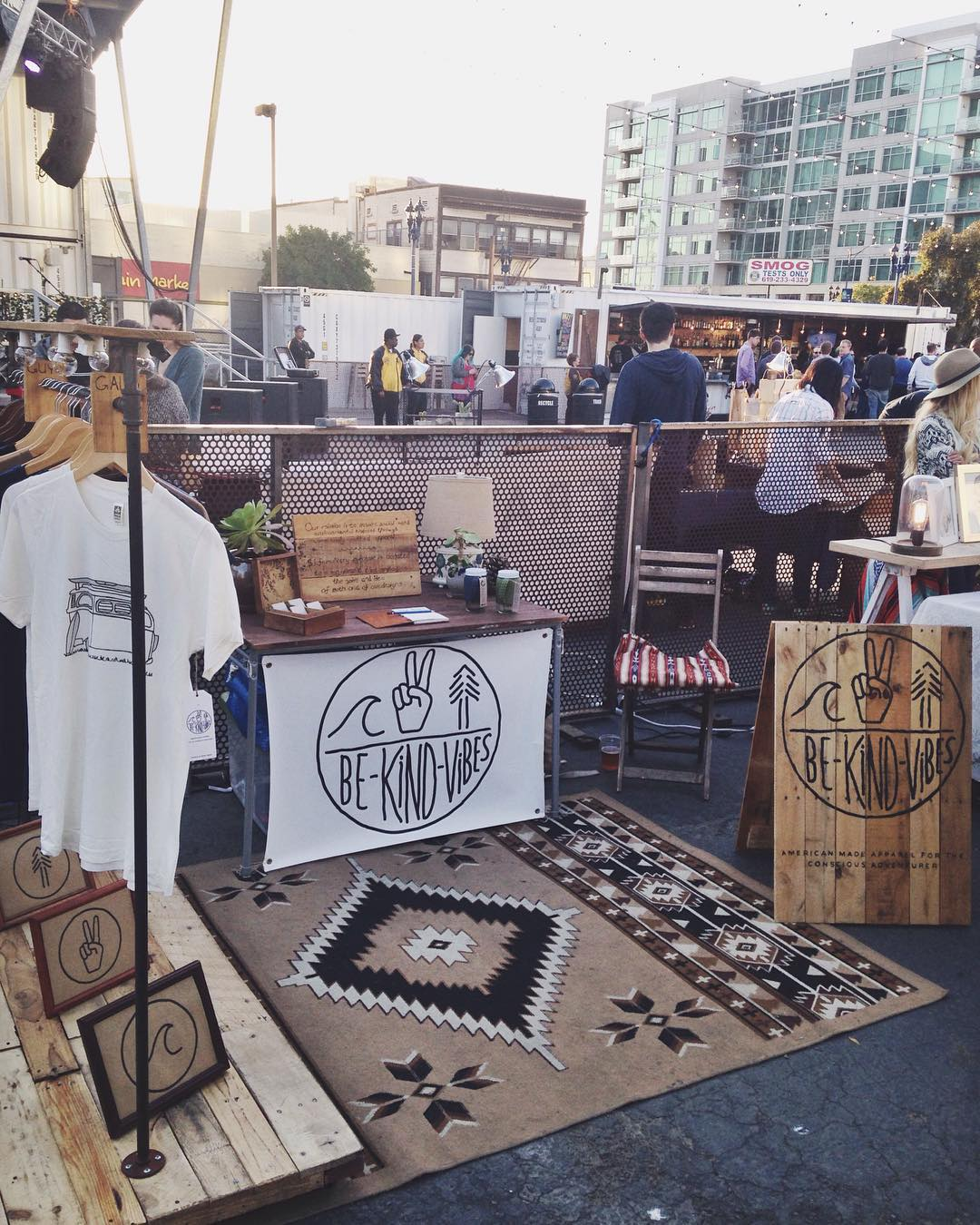 ~ Tribe Gathering ~  Swing by the Thursday night market at @quartyardsd tonight! We're set up until 10pm. Check out some other rad local makers and food trucks. Live music starts at 7pm. --------------------------------- #bekindvibes #bekindtribe...