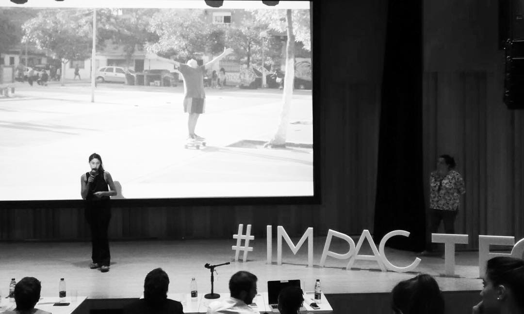 Felicitaciones a @by_jo , Directora de DIBAGO. Finalista de #Impactec2016, el equipo esta orgulloso! Vamos x mas! Seguimos!!