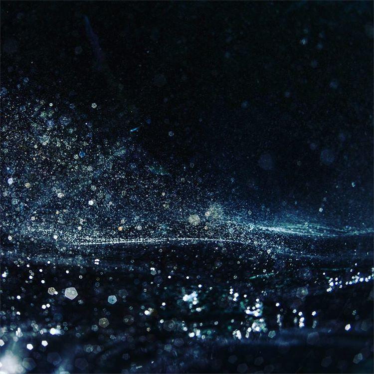 my favorite kind of glitter. ✨ #seaglitter