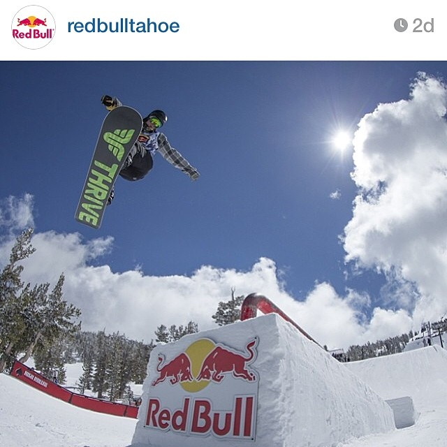 #regram of a shot @redbulltahoe posted from their Snow Warz event at @skiheavenly. Nice to see @ianwizorziak killing in on his Relentless. Photo by: @grahamgee