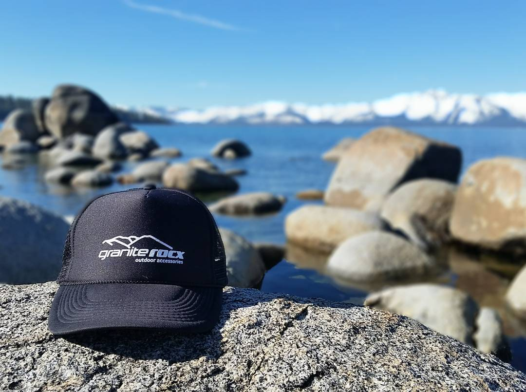 Beautiful, calm morning to be out and about.  If you're in #tahoe, don't forget to come see us this evening at the SLT Business Expo at Harvey's! #getoutside #truckerhats #graniterocx #outdoorsrocx
