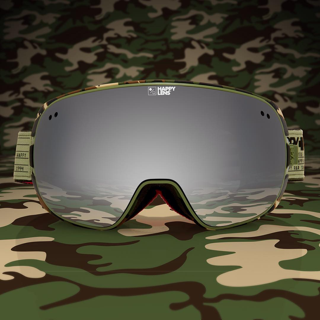 Blend in from pranksters in the Doom snow goggle with #HappyLens.  Good luck out there today! #AprilFoolsDay #SEEHAPPY