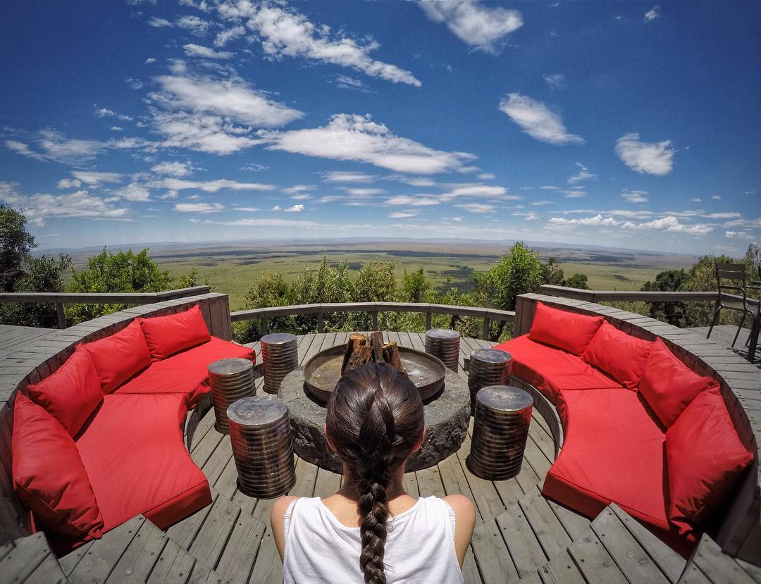 #GoPro Featured Photographer: @willpearson1985  About the shot: This was the sort of view that just stops you dead in your tracks. Perched high above the floor of Africa's Great Rift Valley, the deck at @angamasafari provides an unreal 180-degree...