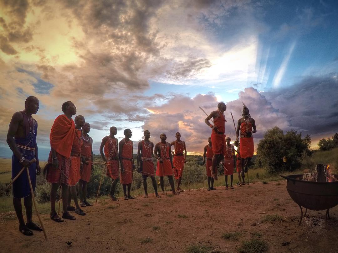#GoPro Featured Photographer: @willpearson1985  About the shot: One of the best things about travelling is exploring the cultures you visit – in this case Kenya and the Maasai Mara. We were fortunate enough to spend some time with members of the Maasai...