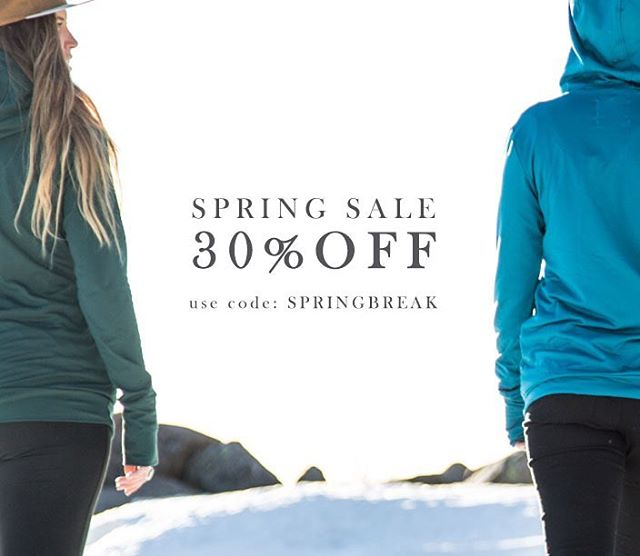 30% OFF the entire website!  Code: SPRINGBREAK