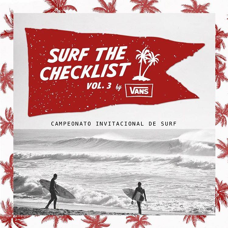 Los mejores surfistas argentinos, las mejores condiciones y una bolsa de 35 mil pesos en premios. Se viene la tercera edición del #VansSurfTheChecklist. El periodo de espera al buen swell es desde hoy hasta el 1 de mayo. Stay tuned