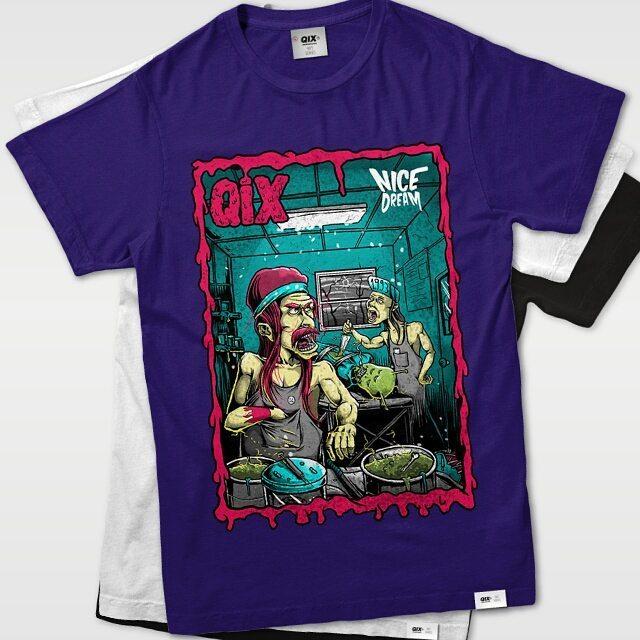 Camiseta Qix Have a Nice Dream Disponível em lojas de todo Brasil e em nossa loja virtual. #qix #nicedream #clothing