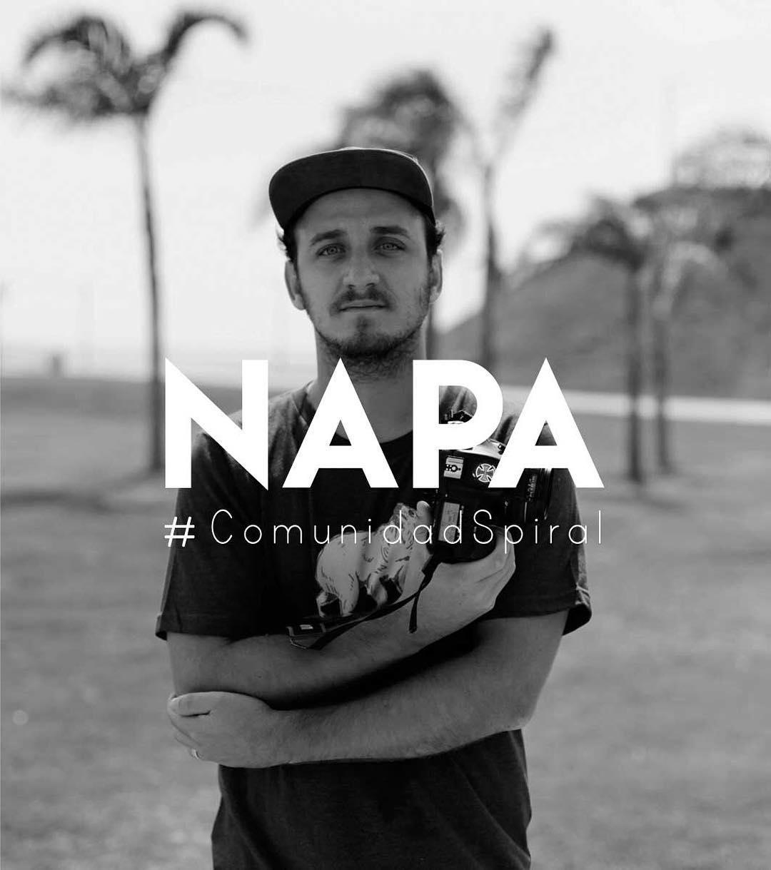 Les presentamos a Napa, un gran fotógrafo, apasionado por el skate y miembro de la Comunidad Spiral! #SpiralShoes #ComunidadSpiral #Photography #Skatepics #Skateboarding #Goskate #Skatelife #Skateeveryday #Skatecomunity