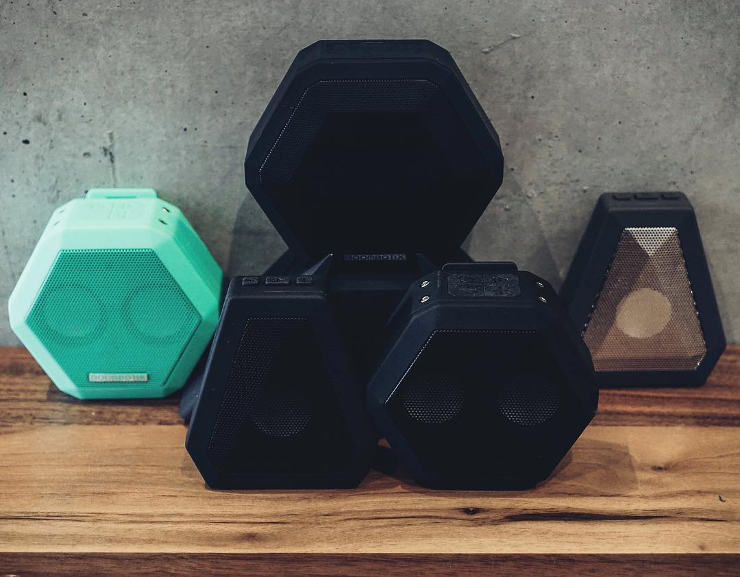 Choose yours. #Boombotix  #design #portablespeaker #audiophile #Essentials