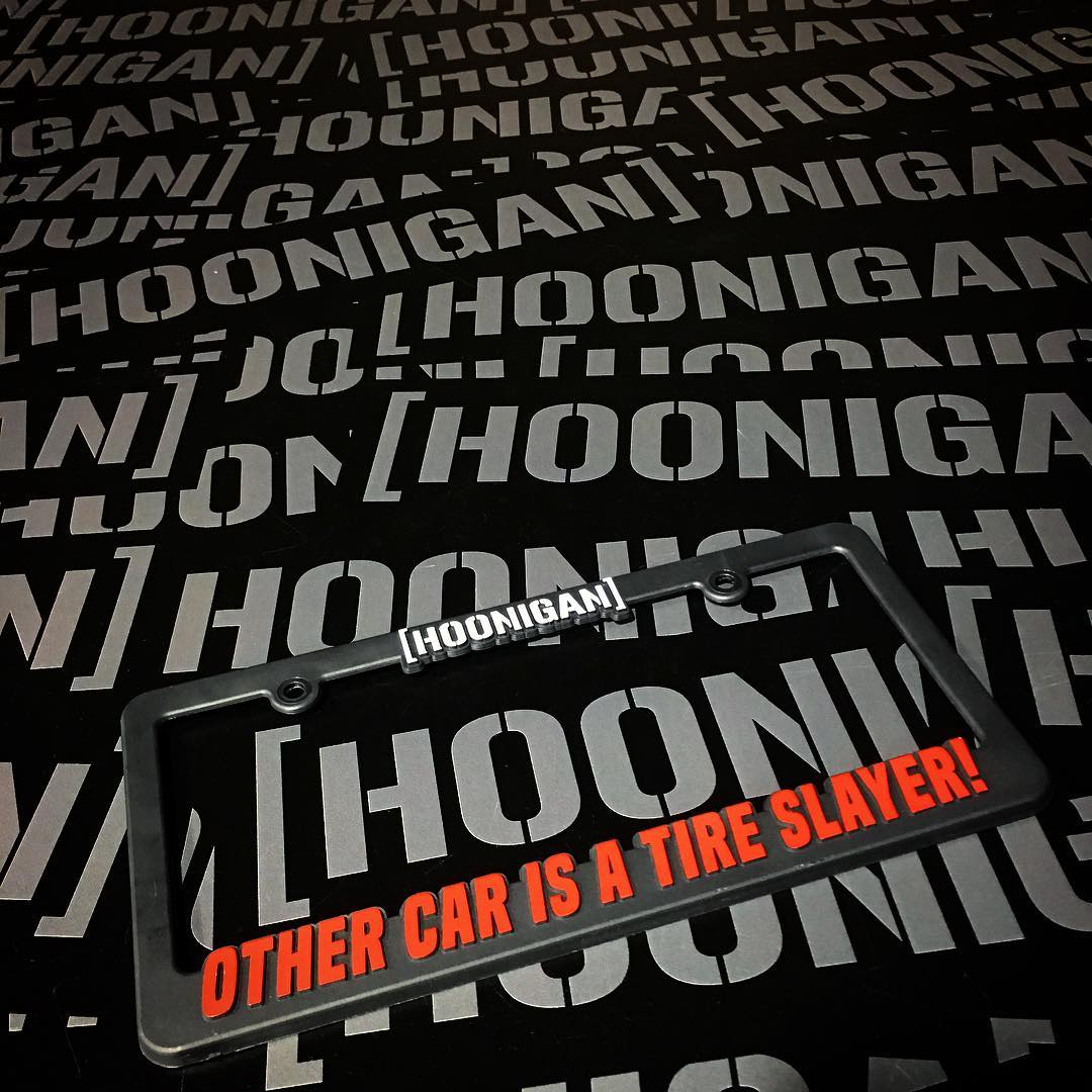 Since we tend to break our cars faster than we can fix em, we needed something for the side whips.  Who can relate? ______ Available now on #hooniganDOTcom  along with other accessories you need! #supporthooniganism
