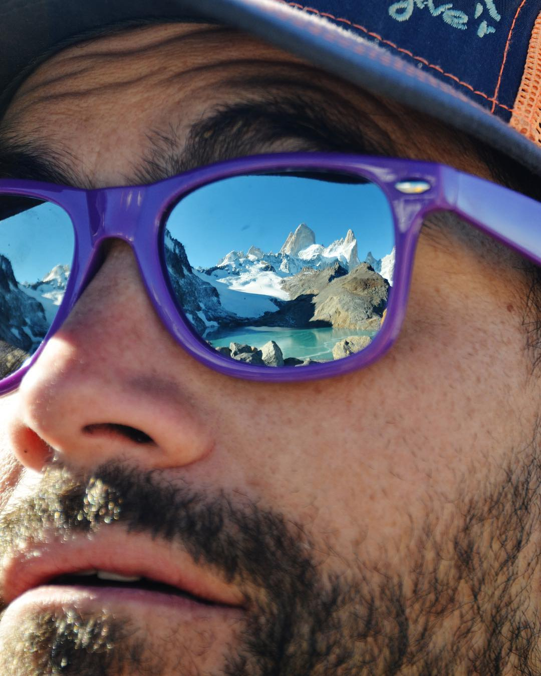 That look you get when you realize it's the last day of the ski season........... #argentina #chile #fitzroy #patagonia