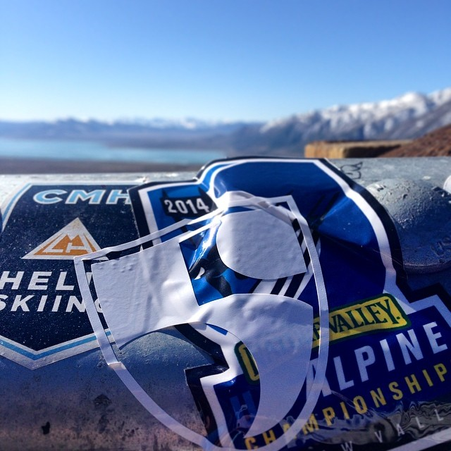 Adding two new stickers to the Mono Lake overview | #USNationals @squawvalley and @hi5sfoundation