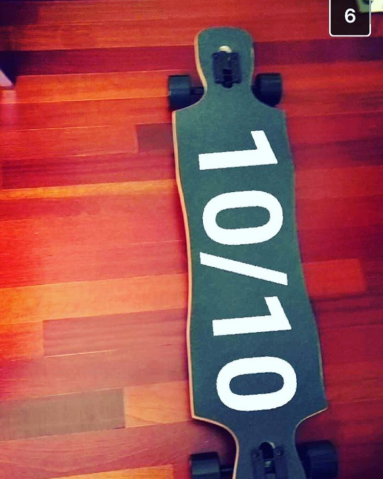 I guess we got a #good #rating on our #longboards #longboarding #snapchat #fanluv #fanlove #ltd #cool #skateboard