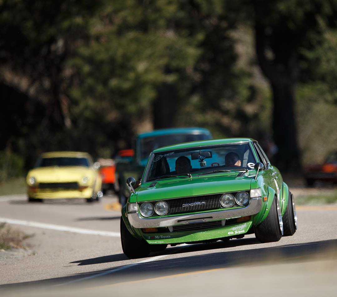 Touge California was rad, we should probably have a classic J Club Day at the Donut Garage. Thoughts? #tougecalifornia2016  _____ Tag the owner.  Owner, come do burnouts!