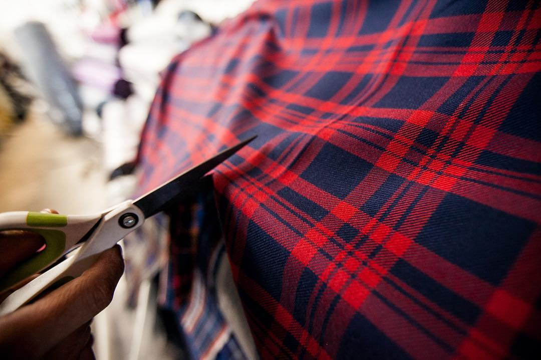New spring release getting close. More info coming soon... #plaid #flannel #spring