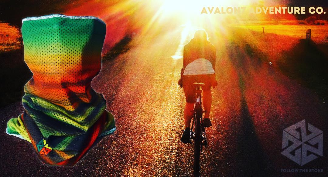 Spring is here!  Our Mesh Faceshields are super breathable and perfect for those chilly early spring bike rides.  Protective and warm without fogging your glasses!  Check them out by clicking the link in our bio.  www.followthestoke.com #avalon7...