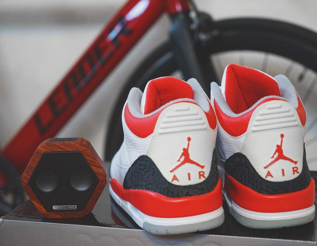 The Rex in Cherry Woodgrain #Boombotix  #Essentials #jordans #sneakerhead #audiophile #design #bikemessenger #SpeakerHead