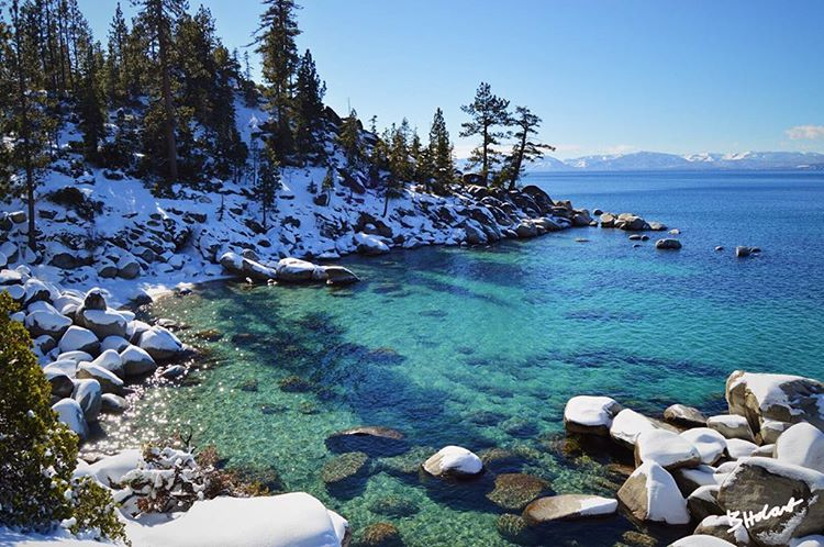 We're kicking off a new blog series from our Ambassadors! First up is the lovely and talented @britthobart, who tells us why she loves Tahoe in April (link in profile!). #CA89 #CA89Ambassador