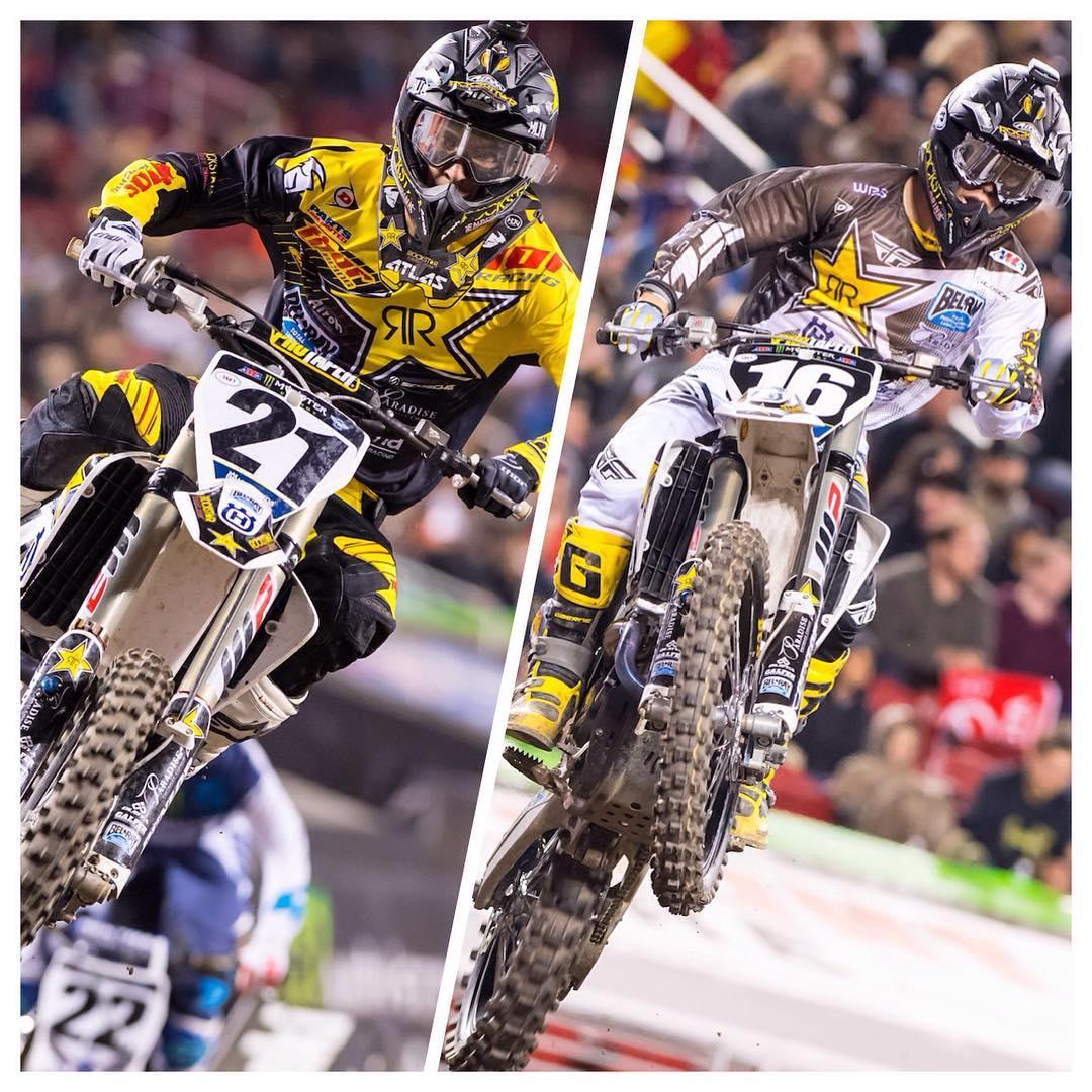 @elhombre_21 and @zacho_16 assemble double podium performance at #SantaClaraSX @dragon_motorsports #DragonNFX2 #DragonMDX2 #dragon_motorsports
