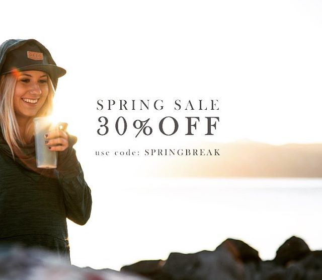 It may be Monday, but spring break ain't over yet! Use code: SPRINGBREAK at checkout.