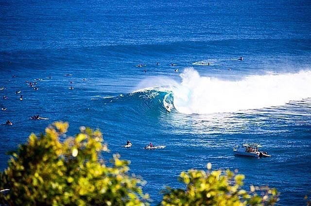 @josh_kerr84 Still buzzing from my first surf at Jaws! Looking forward to going back!