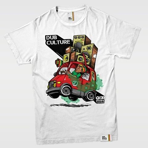 Camiseta Qix Roots Art- Branca Disponível em lojas de todo o Brasil e em nossa loja virtual.  #qix #roots #tshirt