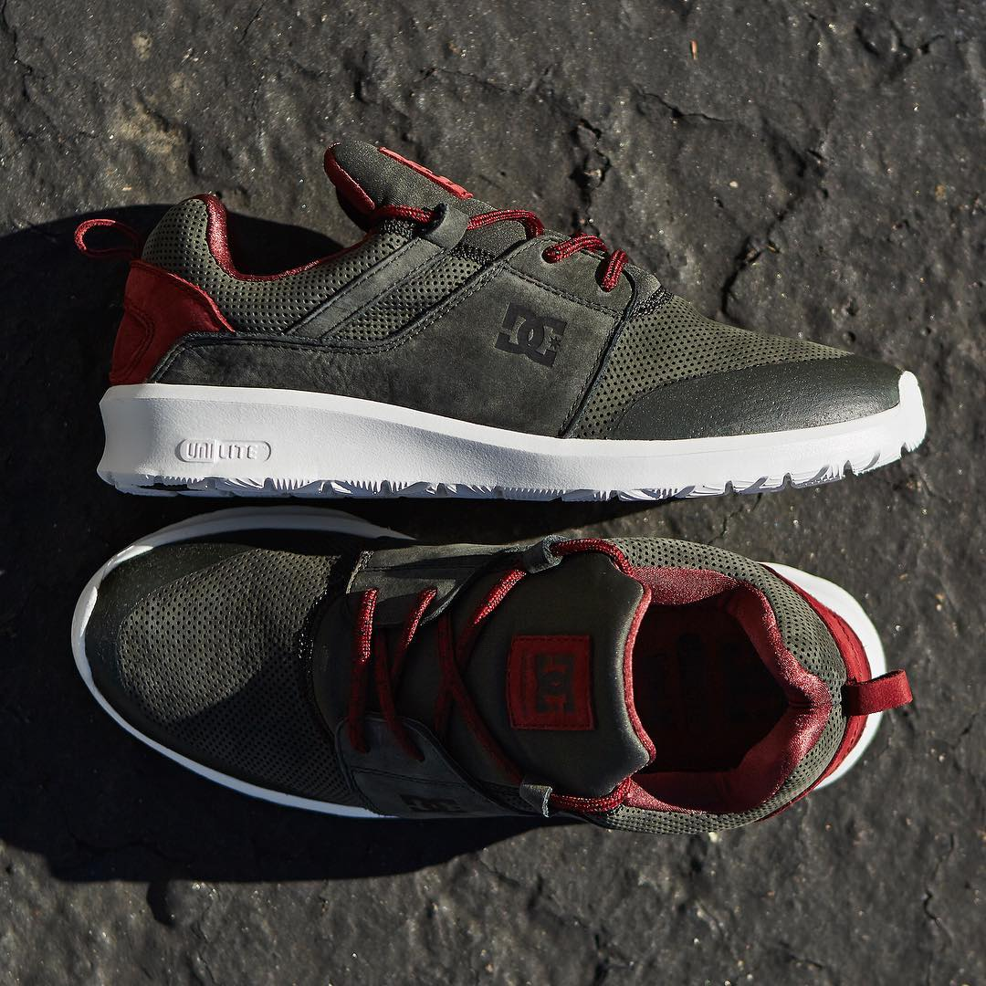 The Heathrow Presidge is now available in new colors, including this Grey/ Red at: dcshoes.com #dcshoes #dcheathrow